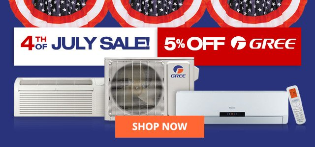 GREE 4th of July Sale!