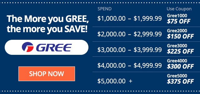 The More you GREE, the More You SAVE!