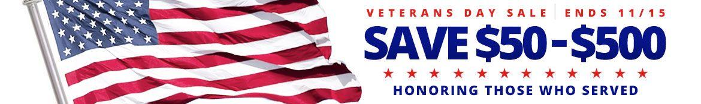 Veterans Day Sale On Ductless Mini Split A/C at Comfortup.com><div align=