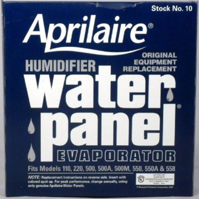 Aprilaire 10 - Water Panel Evaporators For Models 110, 220, 500, 550, 550A, 558
