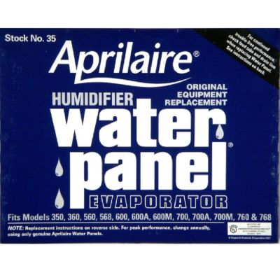 Aprilaire 35 - Water Panel Evaporators For Models 0, 360, 560, 568, 600, 700, 760 And 768