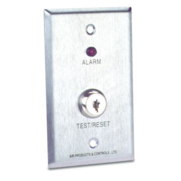 Air Products and Controls MS-KA/R - Remote LED Alarm & Key Test/Reset Switch