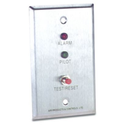 Air Products and Controls MS-RA/P/R - Remote LED Alarm, LED Pilot & Push Button Test/Reset Switch