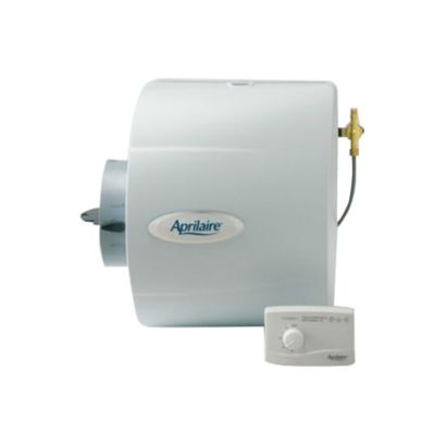 Aprilaire 600M - Whole-House Large Capacity Bypass Humidifier with Manual Control