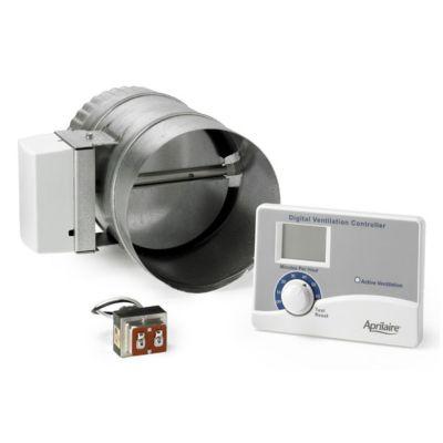 Aprilaire 8126A - Ventilation Control System (Includes Control, Damper and Transformer)