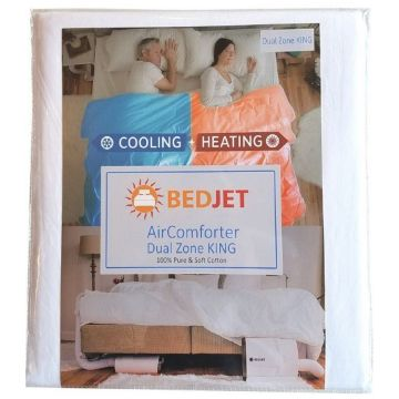 BedJet BJKINGAIR - King Size Dual Zone AirComforter Climate Control Accessory