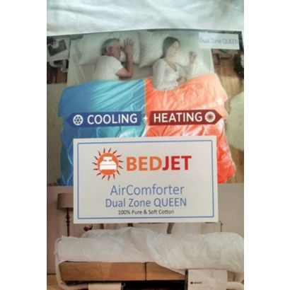 BedJet BJQUEENAIR - Queen Size Dual Zone AirComforter Climate Control Accessory