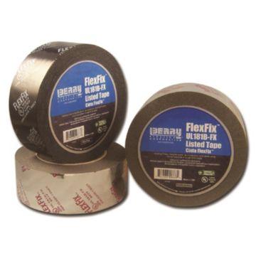 Berry 1088391 - 555 FlexFix™ Black UL181B-FX Listed Film Tape 48mm x 109.7m