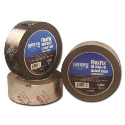Berry 1088391 - 555 FlexFix™ Black UL181B-FX Listed Film Tape 48mm x 109.7m