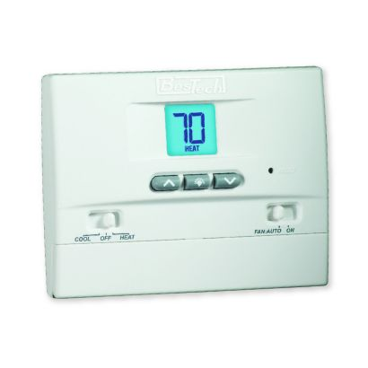 BesTech BT11NP - Non-Programmable Thermostat 1H/1C