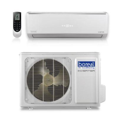 Boreal EQX24HPJ1SB - 24,000 BTU 20 SEER EQUINOX Wall Mount Ductless Mini Split Air Conditioner Heat Pump 208-230V