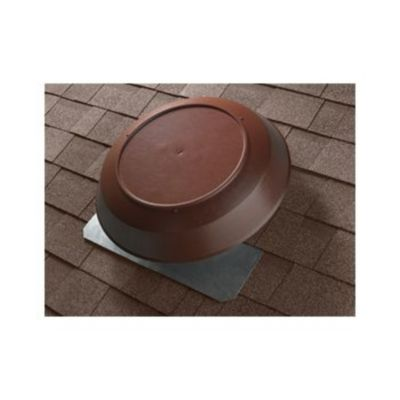 Broan 355BR - 1200 CFM Attic Ventilator with Brown PVC Dome