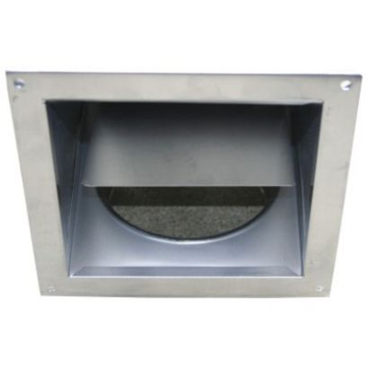 Builder's Best 110139 - Dryer Eave Vent 4""