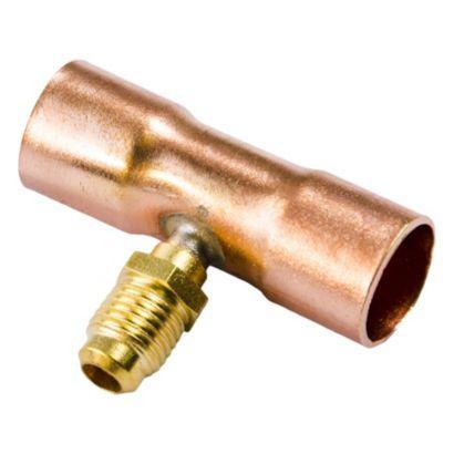 "C & D Valve CD8458 - 5/8"" Copper Access Tee"