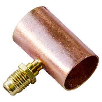 "C & D Valve CD8478 - 7/8"" Copper Access Tee"