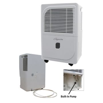 Comfort-Aire BHDP-701-H - 70 Pint/Day Portable Dehumidifier With Built-In Pump 115V