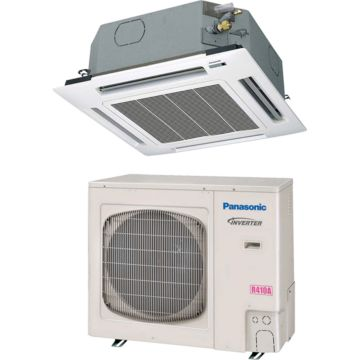 Panasonic 26PEU1U6 - 24,800 BTU 14.1 SEER Ceiling Cassette Ductless Mini Split Air Conditioner Heat Pump 208-230V