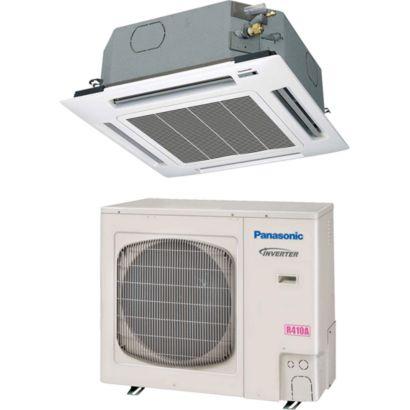 Panasonic 26PEU1U6 - 24,800 BTU 14.1 SEER Ceiling Cassette Ductless Mini Split Air Conditioner Heat Pump 208-230V