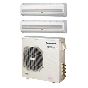Panasonic CU4KE31NBU209 - 30,600 BTU Dual-Zone Wall Mount Mini Split Air Conditioner Heat Pump 208-230V (18-18)