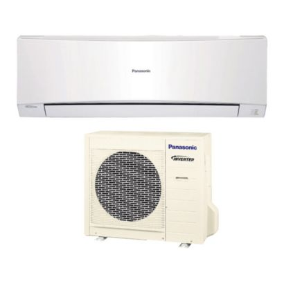 Panasonic® E9NKUA - 9,000 BTU 21 SEER Wall Mount Ductless Mini Split Air Conditioner Heat Pump 208-230V