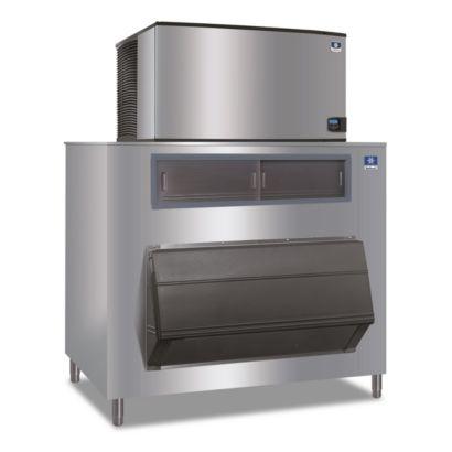 """Manitowoc ID1802A-261-F1325 - 30,000 BTU 48"""" Indigo Dice Cube Ice Machine & F-Style Bin System 208-230V"""