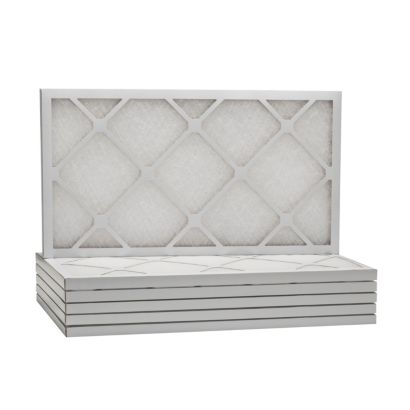 "ComfortUp WD50S.011425 - 14"" x 25"" x 1"" MERV 6 Fiberglass HVAC Filter - 6 Pack"