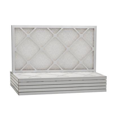 "ComfortUp WD50S.011430 - 14"" x 30"" x 1"" MERV 6 Fiberglass HVAC Filter - 6 Pack"