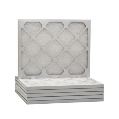 "ComfortUp WD50S.0115M27D - 15 3/4"" x 27 5/8"" x 1"" MERV 6 Fiberglass Air Filter - 6 pack"