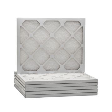 "ComfortUp WD50S.011624 - 16"" x 24"" x 1"" MERV 6 Fiberglass HVAC Filter - 6 Pack"