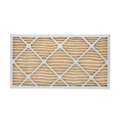 """ComfortUp WP15S.011730 - 17"""" x 30"""" x 1 MERV 11 Pleated Air Filter - 6 pack"""