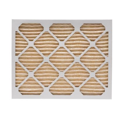 ComfortUp WP15S.012022D - 20 x 22 1/4 x 1 MERV 11 Pleated HVAC Filter - 6 Pack