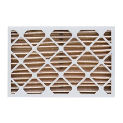 """ComfortUp WP15S.0416H21K - 16 1/2"""" x 21 5/8"""" x 4 MERV 11 Pleated Air Filter - 6 pack"""