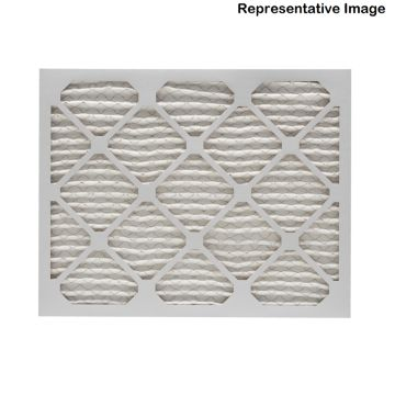 "ComfortUp WP15S.0115F25H - 15 3/8"" x 25 1/2"" x 1 MERV 11 Pleated Air Filter - 6 pack"