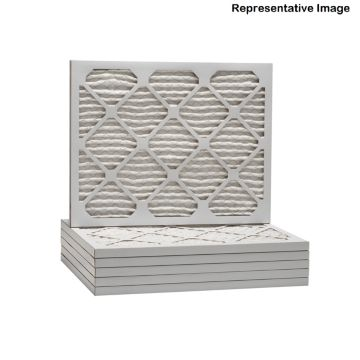 ComfortUp WP15S.012022D - 20 x 22 1/4 x 1 MERV 11 Pleated HVAC Filter - 6 Pack