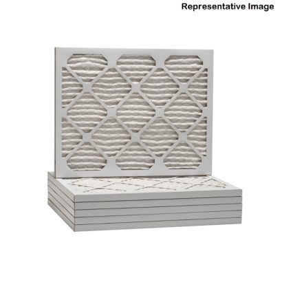 ComfortUp WP15S.0121H23F - 21 1/2 x 23 3/8 x 1 MERV 11 Pleated HVAC Filter - 6 Pack