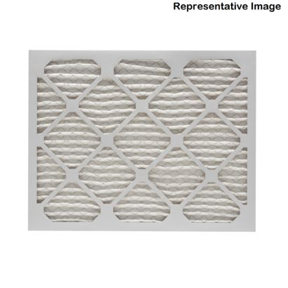 """ComfortUp WP15S.0412H24H - 12 1/2"""" x 24 1/2"""" x 4 MERV 11 Pleated Air Filter - 6 pack"""