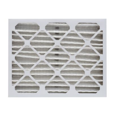 """ComfortUp WP25S.0412D15 - 12 1/8"""" x 15"""" x 4 MERV 13 Pleated Air Filter - 6 pack"""