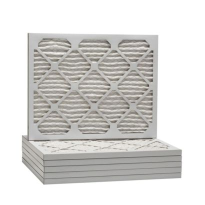 """ComfortUp WP25S.0107M13M - 7 3/4"""" x 13 3/4"""" x 1 MERV 13 Pleated Air Filter - 6 pack"""