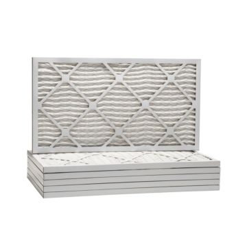 """ComfortUp WP25S.010821 - 8"""" x 21"""" x 1 MERV 13 Pleated Air Filter - 6 pack"""