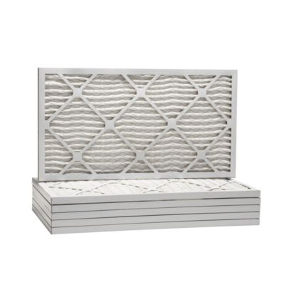 """ComfortUp WP25S.0109H19H - 9 1/2"""" x 19 1/2"""" x 1 MERV 13 Pleated Air Filter - 6 pack"""