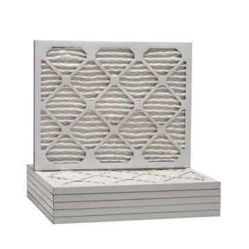 "ComfortUp WP25S.0113D21 - 13 1/4"" x 21"" x 1 MERV 13 Pleated Air Filter - 6 pack"