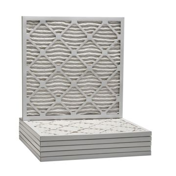 """ComfortUp WP25S.0115D15D - 15 1/4"""" x 15 1/4"""" x 1 MERV 13 Pleated Air Filter - 6 pack"""