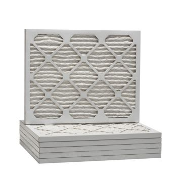 ComfortUp WP25S.012022D - 20 x 22 1/4 x 1 MERV 13 Pleated HVAC Filter - 6 Pack