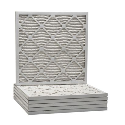 """ComfortUp WP25S.0123F23F - 23 3/8"""" x 23 3/8"""" x 1 MERV 13 Pleated Air Filter - 6 pack"""
