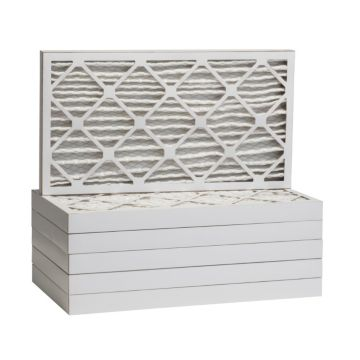 """ComfortUp WP25S.021020 - 10"""" x 20"""" x 2 MERV 13 Pleated Air Filter - 6 pack"""