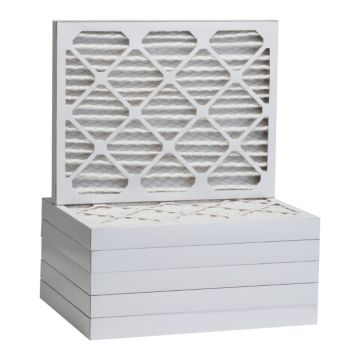 """ComfortUp WP25S.021722 - 17"""" x 22"""" x 2 MERV 13 Pleated Air Filter - 6 pack"""