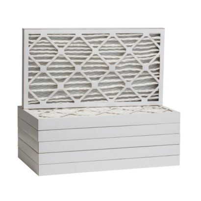 """ComfortUp WP25S.022032 - 20"""" x 32"""" x 2 MERV 13 Pleated Air Filter - 6 pack"""