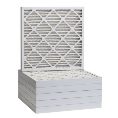"""ComfortUp WP25S.022121 - 21"""" x 21"""" x 2 MERV 13 Pleated Air Filter - 6 pack"""