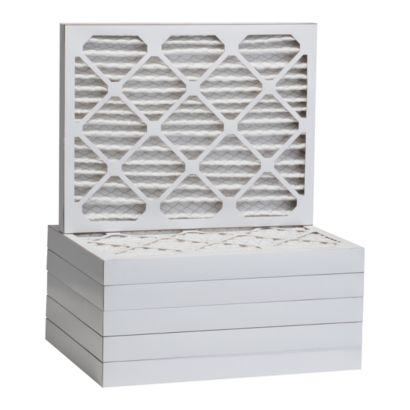 """ComfortUp WP25S.022123 - 21"""" x 23"""" x 2 MERV 13 Pleated Air Filter - 6 pack"""