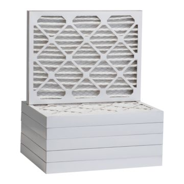 "ComfortUp WP25S.0221H23F - 21 1/2"" x 23 3/8"" x 2 MERV 13 Pleated Air Filter - 6 pack"